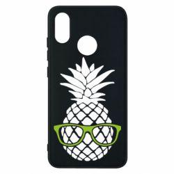 Чехол для Xiaomi Mi8 Pineapple with glasses