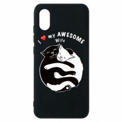 Чехол для Xiaomi Mi8 Pro Cats with a smile