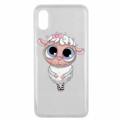 Чехол для Xiaomi Mi8 Pro Cute lamb with big eyes