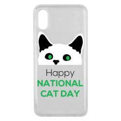 Чехол для Xiaomi Mi8 Pro Happy National Cat Day