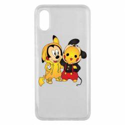 Чехол для Xiaomi Mi8 Pro Mickey and Pikachu