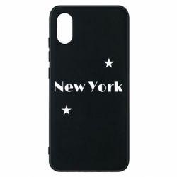 Чехол для Xiaomi Mi8 Pro New York and stars
