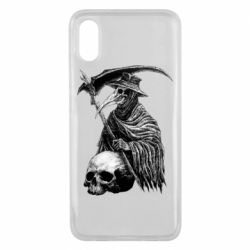 Чехол для Xiaomi Mi8 Pro Plague Doctor graphic arts