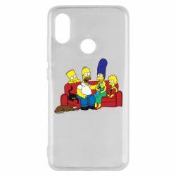 Чехол для Xiaomi Mi8 Simpsons At Home
