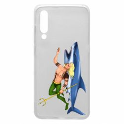 Чехол для Xiaomi Mi9 Aquaman with a shark