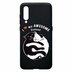 Чехол для Xiaomi Mi9 Cats and love