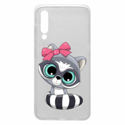 Чехол для Xiaomi Mi9 Cute raccoon