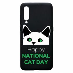 Чехол для Xiaomi Mi9 Happy National Cat Day