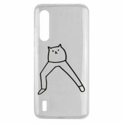 Чохол для Xiaomi Mi9 Lite Cat in pants