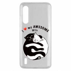 Чехол для Xiaomi Mi9 Lite Cats with a smile