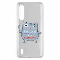 Чехол для Xiaomi Mi9 Lite Cute cat and text