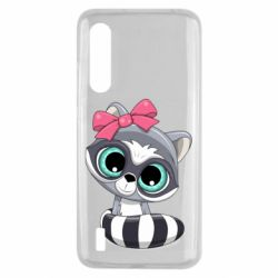 Чехол для Xiaomi Mi9 Lite Cute raccoon