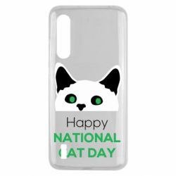 Чехол для Xiaomi Mi9 Lite Happy National Cat Day