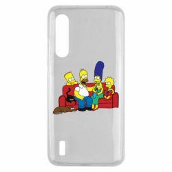 Чехол для Xiaomi Mi9 Lite Simpsons At Home