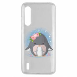 Чехол для Xiaomi Mi9 Lite Two cute penguins
