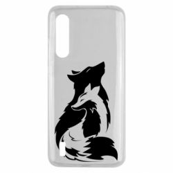 Чехол для Xiaomi Mi9 Lite Wolf And Fox