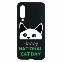 Чехол для Xiaomi Mi9 SE Happy National Cat Day