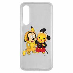 Чехол для Xiaomi Mi9 SE Mickey and Pikachu