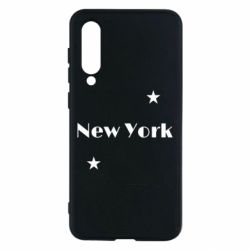 Чехол для Xiaomi Mi9 SE New York and stars
