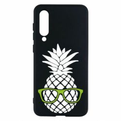 Чехол для Xiaomi Mi9 SE Pineapple with glasses