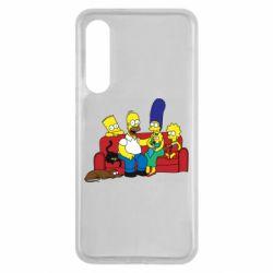 Чехол для Xiaomi Mi9 SE Simpsons At Home