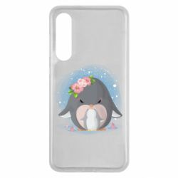Чехол для Xiaomi Mi9 SE Two cute penguins