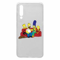 Чехол для Xiaomi Mi9 Simpsons At Home