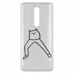 Чохол для Xiaomi Mi9T Cat in pants
