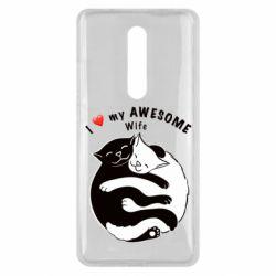 Чехол для Xiaomi Mi9T Cats with a smile