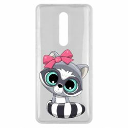 Чехол для Xiaomi Mi9T Cute raccoon