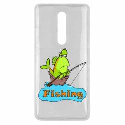 Чехол для Xiaomi Mi9T Fish Fishing