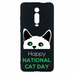 Чехол для Xiaomi Mi9T Happy National Cat Day