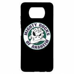 Чехол для Xiaomi Poco X3 Anaheim Mighty Ducks Logo