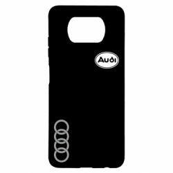 Чехол для Xiaomi Poco X3 Audi Logo