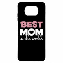 Чехол для Xiaomi Poco X3 Best mom