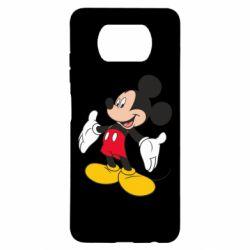 Чехол для Xiaomi Poco X3 Mickey Mouse