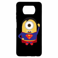 Чохол для Xiaomi Poco X3 Minion Superman