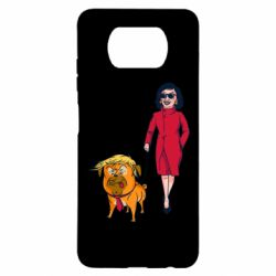 Чехол для Xiaomi Poco X3 Pelosi and Trump