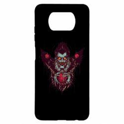 Чехол для Xiaomi Poco X3 Ryuk the god of death