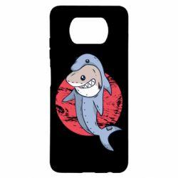 Чехол для Xiaomi Poco X3 Shark or dolphin