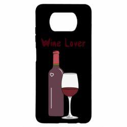 Чехол для Xiaomi Poco X3 Wine lover
