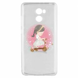 Чехол для Xiaomi Redmi 4 Cute Scooter Girl