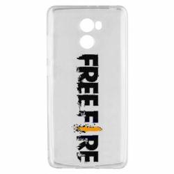 Чехол для Xiaomi Redmi 4 Free Fire spray