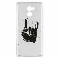 Чехол для Xiaomi Redmi 4 HEAVY METAL ROCK