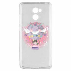 Чехол для Xiaomi Redmi 4 Принцесса на воздушном шаре