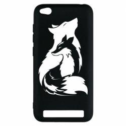 Чехол для Xiaomi Redmi 5A Wolf And Fox