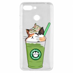 Чехол для Xiaomi Redmi 6 Delicious cat