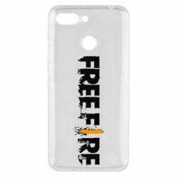 Чехол для Xiaomi Redmi 6 Free Fire spray