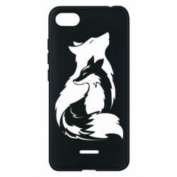 Чехол для Xiaomi Redmi 6A Wolf And Fox