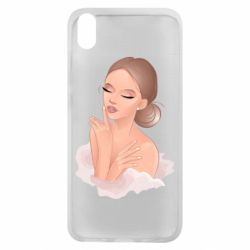Чехол для Xiaomi Redmi 7A Beautiful art girl